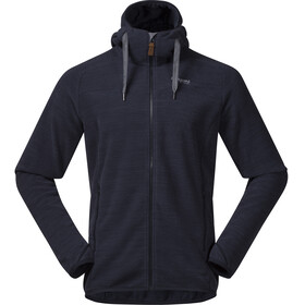Bergans Hareid Fleece Jacket Men Dark Navy Melange